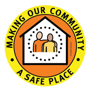 Safe Place logo - making our community a safe place