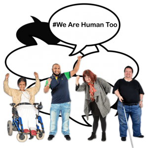 #We Are Human Too